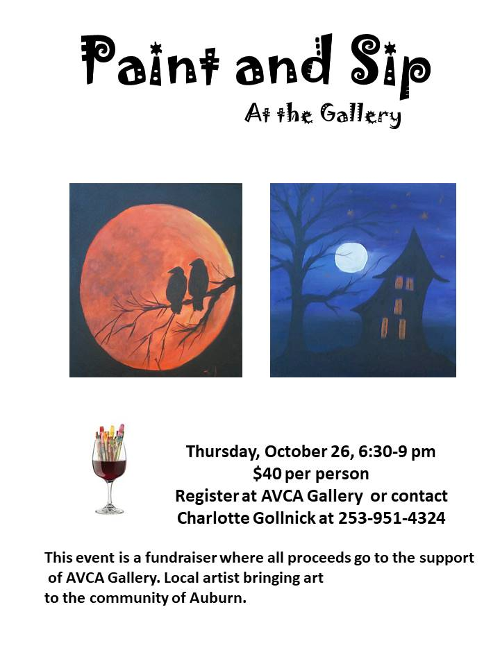 Halloween Flier PaintandSip2