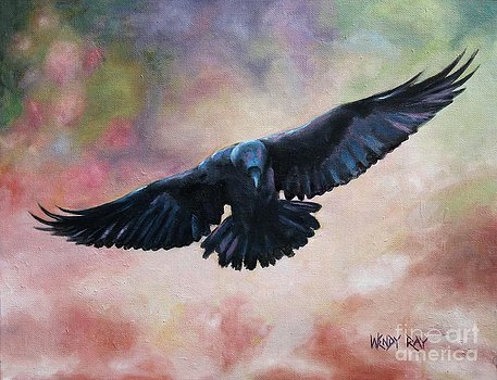 raven-in-flight-wendy-ray